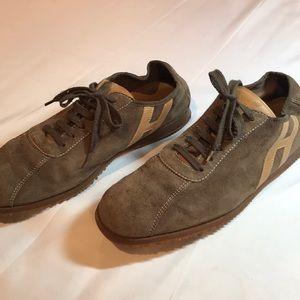 Hogan men's suede sneakers size9 1/2